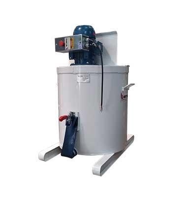 Misturador para argamassas fluidas